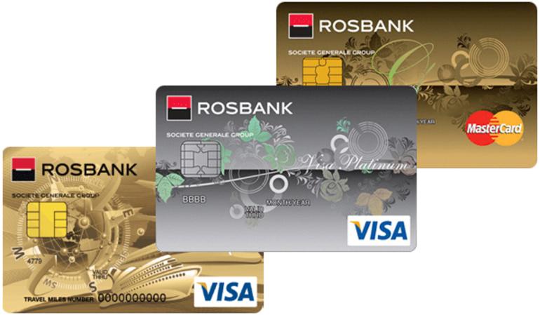Кредитная карта в банке «РосБанк»